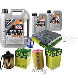 Sketch Inspection Filter Liqui Moly Oil 7l 5w-30 For Fiat Ducato Bus 250