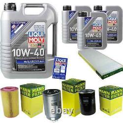 Sketch Inspection Filter Liqui Moly Oil 8l 10w-40 For Fiat