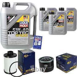 Sketch Inspection Filter Liqui Moly Oil 8l 5w-40 For Fiat Ducato Bus De