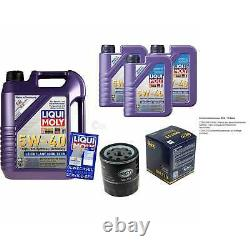 Sketch Inspection Filter Liqui Moly Oil 8l 5w-40 From Citroen Berlingo