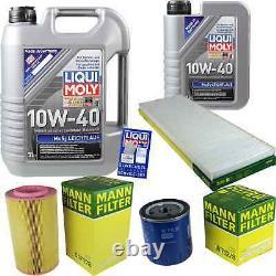 Sketch Inspection Filter Liqui Moly Turbo Oil 6l 10w-40 For Fiat Ducato