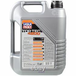 Sketch Inspection Filter Liqui Moly Turbo Oil 8l 5w-30 For Fiat Ducato