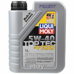 Sketch Inspection Filter Oil Liqui Moly 11l 5w-40 For Citroen Jumper Box