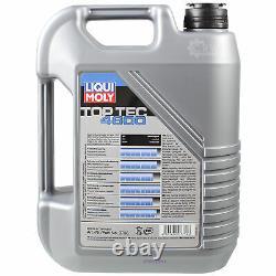 Sketch Inspection Filter Oil Liqui Moly 6l 5w-30 For Fiat Ducato Bus 244