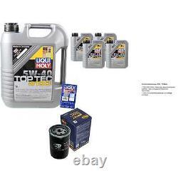 Sketch Inspection Filter Oil Liqui Moly Oil 9l 5w-40 For Citroen Berlingo