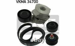 Skf Kit Of Accessory Belts For Peugeot Boxer Fiat Ducato Vkma 34700