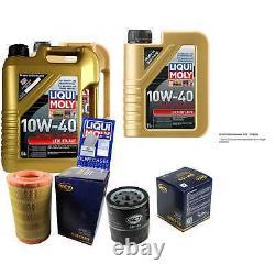11L Set D'Inspection Liqui Moly Bon Fonctionnement 10W-40 + SCT Filtres 11232028