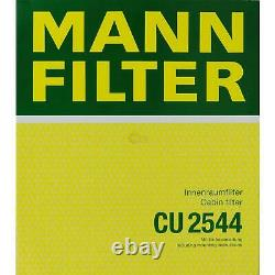 5x Mann Filtre Filtre D'Habitacle mannol Filtre à Air Boîte de Fiat Ducato 250