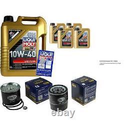 9L Set D'Inspection Liqui Moly Bon Fonctionnement 10W-40 + SCT Filtres 11231495