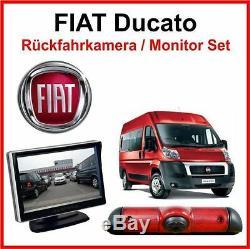 Fiat Ducato Caméra de Recul Écran Kit Aide au Stationnement Caméra Fiat Ducato