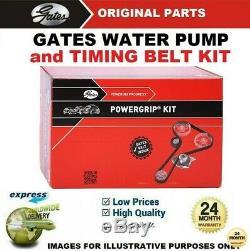 Gates Eau Pompe Kit Courroie Distribution pour Fiat Ducato Plateforme 130 M. Jet