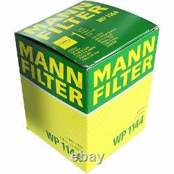 Huile moteur 5L MANNOL Defender 10W-40 + Mann-Filter Fiat Ducato Bus 230 2.5 Tdi
