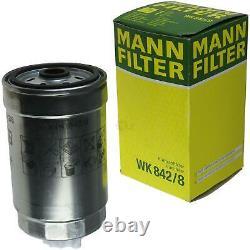 Huile moteur 5L MANNOL Defender 10W-40 + Mann-Filter Fiat Ducato Bus 230 2.8 Tdi