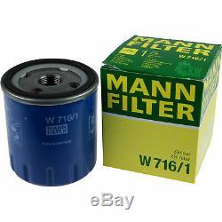 Huile moteur 6L MANNOL Defender 10W-40 + Mann Boîte de Fiat Ducato 244 2.0 JTD
