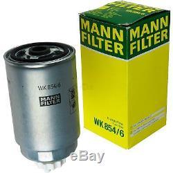 Huile moteur 6L MANNOL Defender 10W-40 + Mann Fiat Ducato Boîte 230L 2.0 JTD