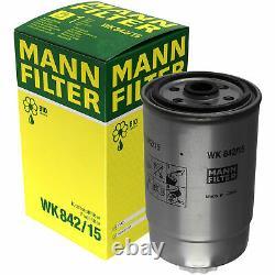 Huile moteur 7L MANNOL Defender 10W-40 + Mann-Filter Fiat Boîte Ducato 244 2.3