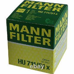 Huile moteur 7L MANNOL Elite 5W-40+MANN-FILTER Fiat Ducato Bus 250 100 Multijet