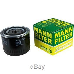 Inspection Set 7 L LIQUI MOLY Toptec 4200 5W-30 + Mann filtre 9821939