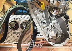 Kit Courroie De Distribution Origine Fiat Pour Ducato/tous Les Jours 2.3 Jtd/