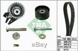 Kit Courroie de Distribution Ina + Pompe Eau Bugatti Alfa Romeo 159 1.9 Jtdm /