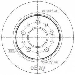 Kit Disques De Frein Arriêre Pd155q 230237500 1421413 F2014p Bdm738410