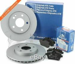 Kit de disques et de plaquettes de frein arrière ATE pour FIAT DUCATO