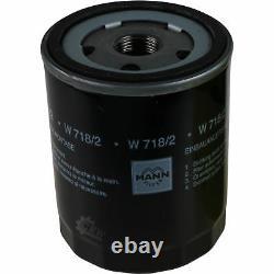 LIQUI MOLY 5L 5W-40 huile moteur + Mann-Filter filtre Fiat Ducato 230 1.9 Td