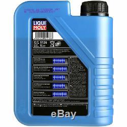 LIQUI MOLY 7L Longue Date High Tech 5W-30 huile moteur + Mann Pour Fiat Ducato