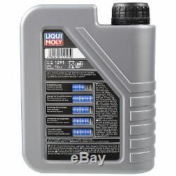 LIQUI MOLY 7L MoS2 Bon Fonctionnement 10W-40 Huile + Mann Pour Fiat Ducato Boîte