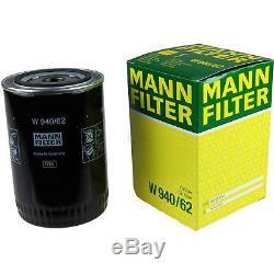 Liqui Moly 7L Longue Date High Tech 5W-30 Huile Moteur + Mann-Filter pour Fiat