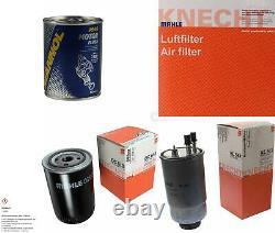 MAHLE / KNECHT Set D'Inspection Ensemble de Filtres SCT Lavage moteur 11609405