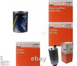 MAHLE / KNECHT Set D'Inspection Ensemble de Filtres SCT Lavage moteur 11612565