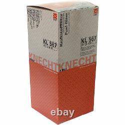 MAHLE / KNECHT Set D'Inspection Ensemble de Filtres SCT Lavage moteur 11613770