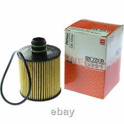 MAHLE / KNECHT Set D'Inspection Ensemble de Filtres SCT Lavage moteur 11615842