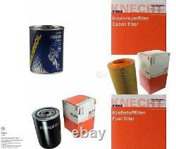 MAHLE / KNECHT Set D'Inspection Ensemble de Filtres SCT Lavage moteur 11617276