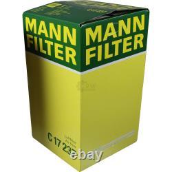MANNOL 7L Extreme 5W-40 huile moteur + Mann Filtre Luft Fiat Ucato Bus 250