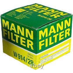 MANN-FILTER Set Fiat Ducato Boîte 250 110 Multijet 23 D 150 250 290 130