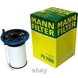 MANN-FILTER Set Fiat Ducato Boîte 250 150 Multijet 23 D 110 250 290 130 de Bus