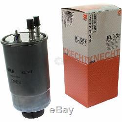 Mahle Filtre pour Carburant Kl 567 Intérieur la 411 Air LX 2059 à Huile Ox 779D