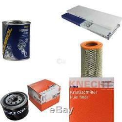 Mahle / Knecht Set D'Inspection Ensemble de Filtres Sct Lavage Moteur 11617384