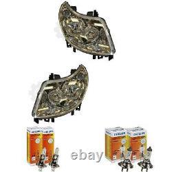 Phare Halogène Kit Fiat Ducato 07.06-12.09 H7/H1 avec Moteur Incl. Lampes