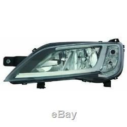 Phare Halogène Kit H7 H1 PY21W W21/5W Chrome pour Fiat Ducato Incl. Lampes