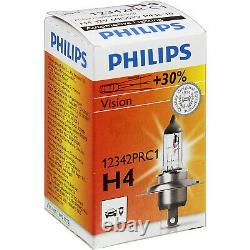 Phares Kit Lot Ducato Boxer Cavalier Année Fab. 94-99 Philips H4 Hydraulique Lwr