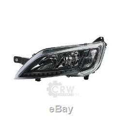 Phares LED H7/H7 Kit Gauche Droite pour Fiat Ducato Boîte 250 Année Fab. 06/