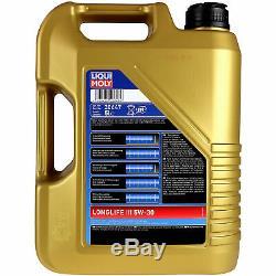 Révision D'Filtre Liqui Moly Huile 10L 5W-30 pour Fiat