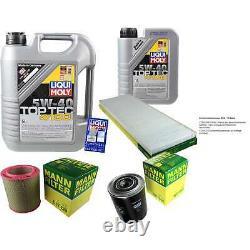 Révision Filtre LIQUI MOLY Huile 6L 5W-40 Pour Fiat Ducato Boîte 230L 2.5 D