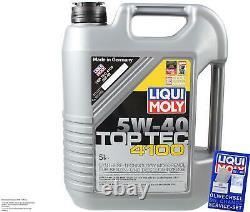 Révision Filtre LIQUI MOLY Huile 6L 5W-40 pour Fiat