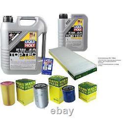 Révision Filtre LIQUI MOLY Huile 6L 5W-40 pour Fiat Boîte Ducato 230L 1.9