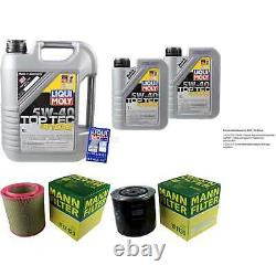 Révision Filtre LIQUI MOLY Huile 7L 5W-40 Pour Fiat Ducato Boîte 280 2.5 D