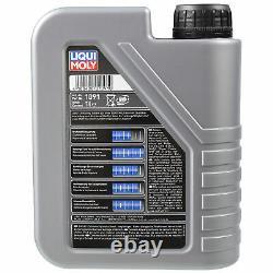 Révision Filtre LIQUI MOLY Huile 8L 10W-40 pour Fiat
